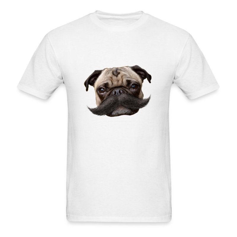Hugo Mustachio for him - Men's T-Shirt