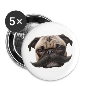 Hugo Mustachio small buttons - Small Buttons