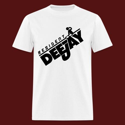 Resident Deejay - Men's T-Shirt