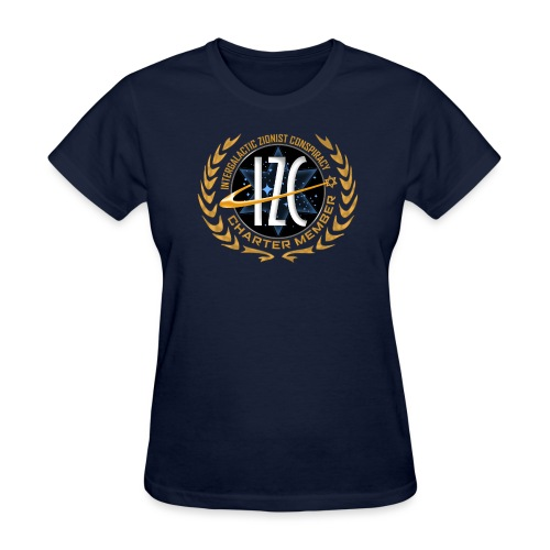 Intergalactic Zionist Conspiracy Charter Member - Women's T-Shirt