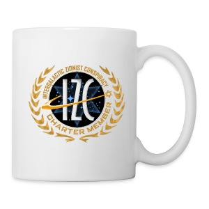 Intergalactic Zionist Conspiracy Mug - Coffee/Tea Mug