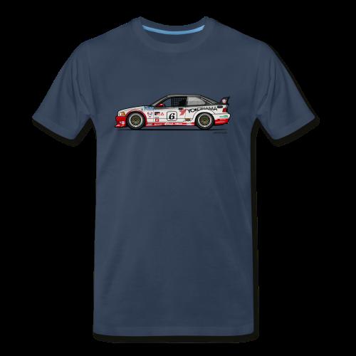 E36 GTS-2 PTG Race Car - Men's Premium T-Shirt