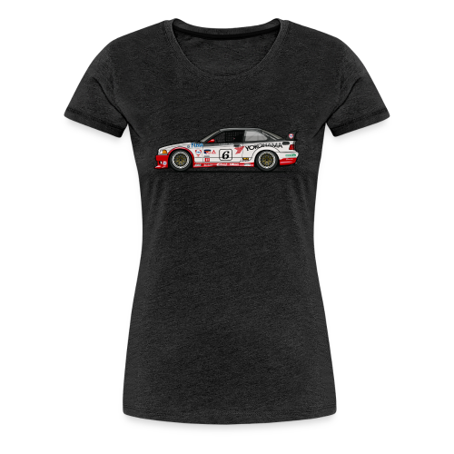 E36 GTS-2 PTG Race Car - Women's Premium T-Shirt