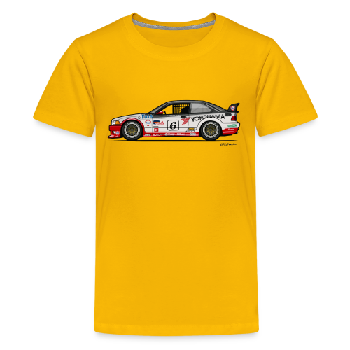 E36 GTS-2 PTG Race Car - Kids' Premium T-Shirt
