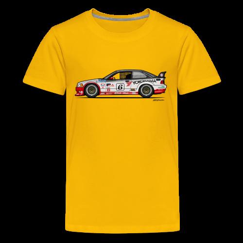 E36 GTS-2 PTG Race Car - Kids' Premium T-Shirt
