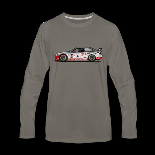 E36 GTS-2 PTG Race Car - Men's Premium Long Sleeve T-Shirt