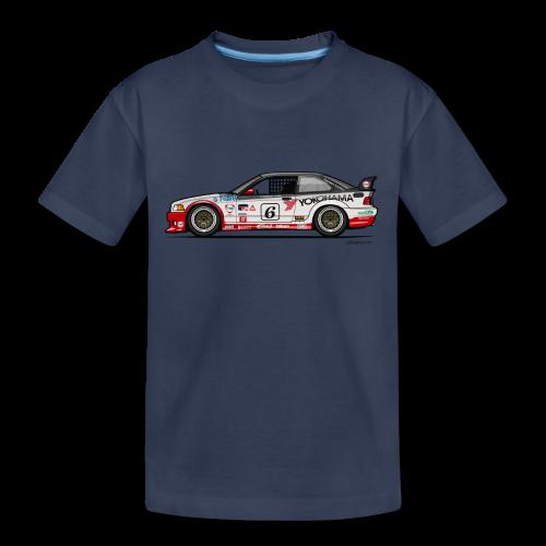 E36 GTS-2 PTG Race Car - Toddler Premium T-Shirt