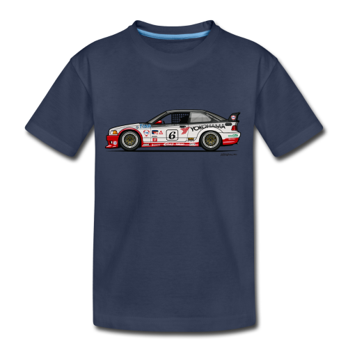 E36 GTS-2 PTG Race Car - Toddler Premium T-Shirt