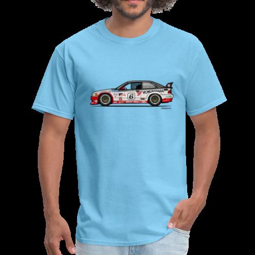 E36 GTS-2 PTG Race Car - Men's T-Shirt