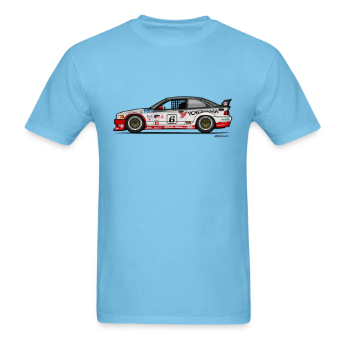 E36 GTS-2 PTG Race Car - Men's T-Shirt