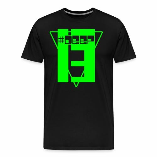 #Deep13 Glow Logo T-Shirt - Men's Premium T-Shirt