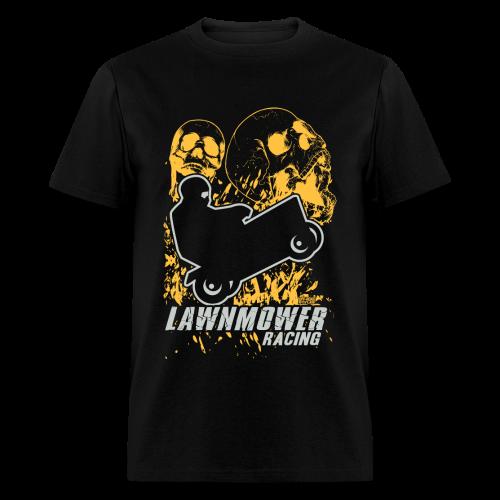 Lawnmower Race Boom Skull