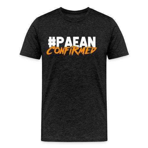 Paean Confirmed Orange - Men's Premium T-Shirt