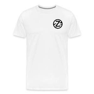 Zèbra Turtle Tee - Blue/Red - Men's Premium T-Shirt