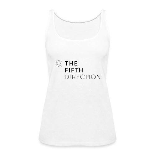 T5D White Tank - Women's Premium Tank Top