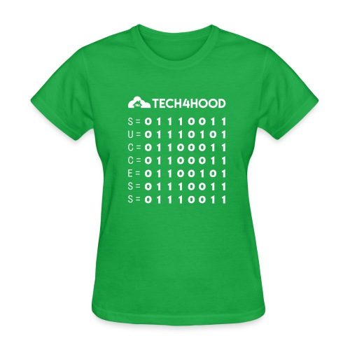 Tech4Hood Rookie Rank T-Shirt Women Binary Success - Women's T-Shirt