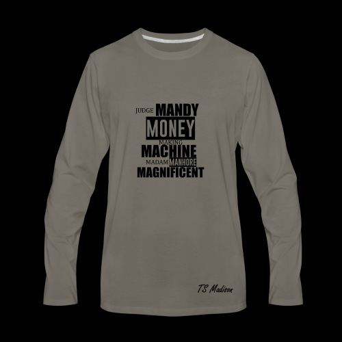 Judge Mandy Long sleeve (mens) - Men's Premium Long Sleeve T-Shirt