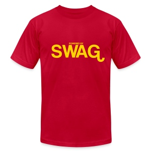 powered by SWAG - Men's T-Shirt by American Apparel