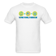 T-Shirts ~ Men's T-Shirt ~ Super Totally Awesome Equation!