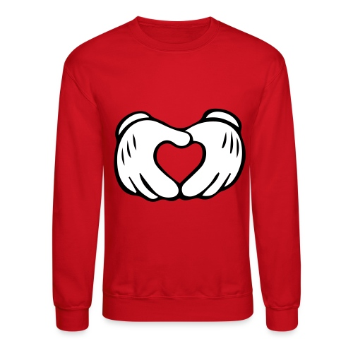 Heart Mickey Mouse - Crewneck Sweatshirt