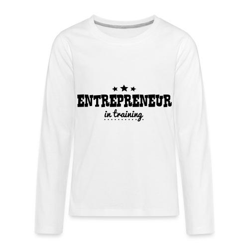 OUTCHEA GRINDIN' - Kids' Premium Long Sleeve T-Shirt
