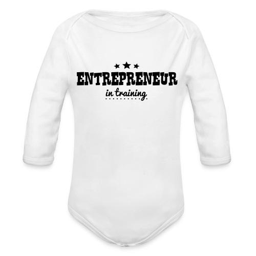OUTCHEA GRINDIN' - Organic Long Sleeve Baby Bodysuit