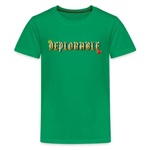 DEPLORABLE~ - Kids' Premium T-Shirt