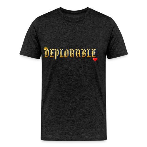 DEPLORABLE~ - Men's Premium T-Shirt
