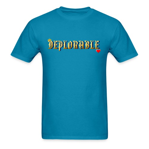 DEPLORABLE~ - Men's T-Shirt