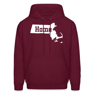 Massachusetts Home Boston - Men's Hoodie