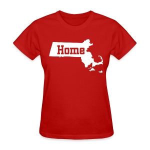 Massachusetts Home - Women's T-Shirt