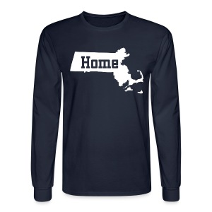 Massachusetts Home - Men's Long Sleeve T-Shirt