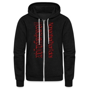Side Talos - Unisex - Unisex Fleece Zip Hoodie by American Apparel