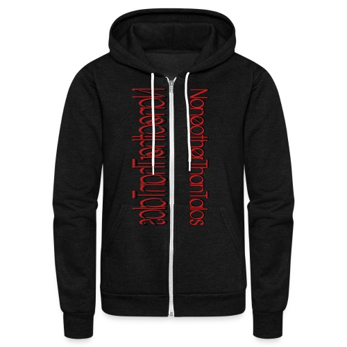 Side Talos - Unisex - Unisex Fleece Zip Hoodie
