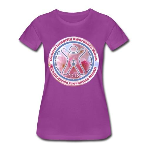 Genital Integrity Awareness Week 2018 - Women's Premium T-Shirt