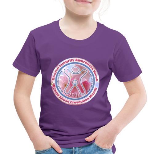 Genital Integrity Awareness Week 2018 - Toddler Premium T-Shirt