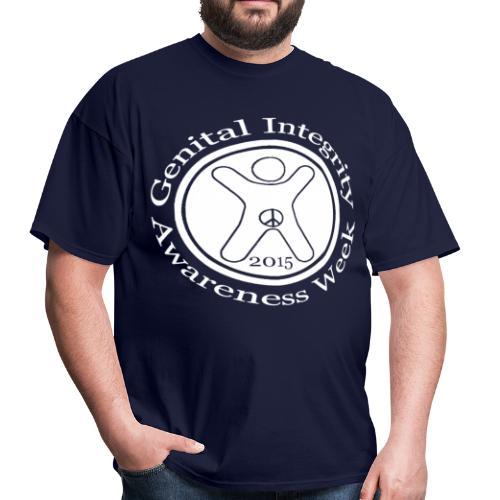 Genital Integrity Awareness Week 2015 - Men's T-Shirt