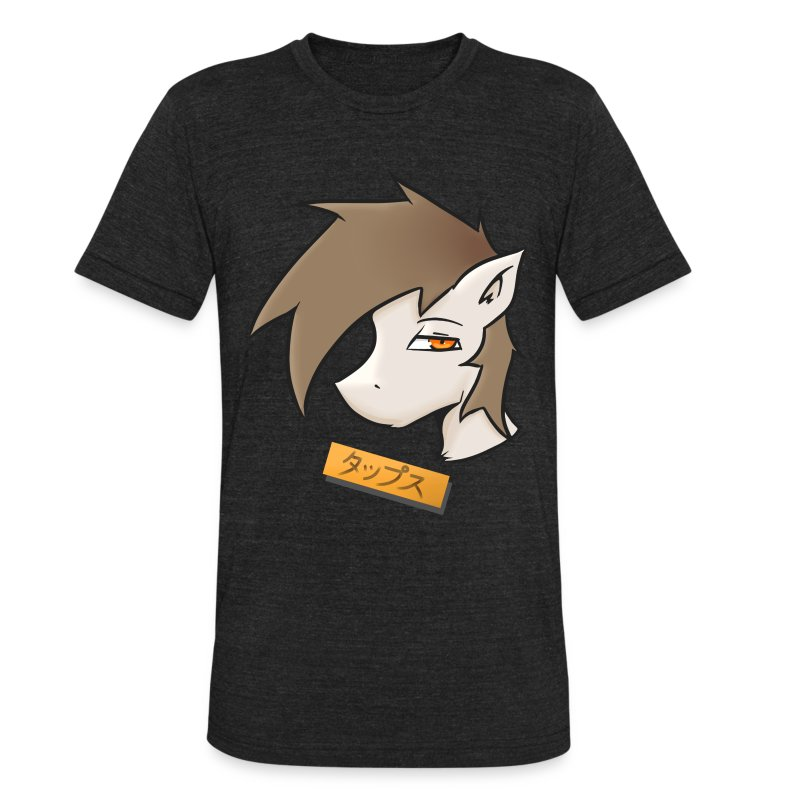 Taps Anime - Unisex Tri-Blend T-Shirt