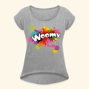 Woomy - Women's Roll Cuff T-Shirt