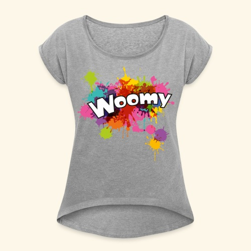 Woomy - Women's Roll Cuff T-Shirt