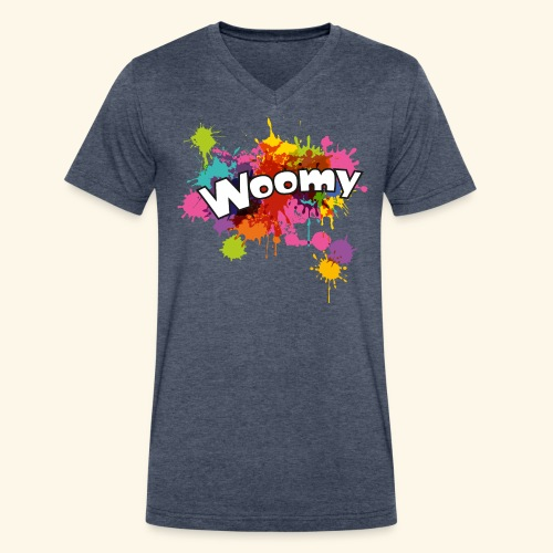 Woomy - Men's V-Neck T-Shirt by Canvas