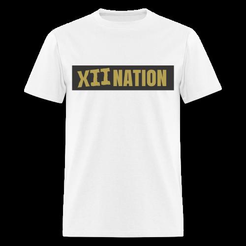 XII NATION GOLD&BLACK - Men's T-Shirt