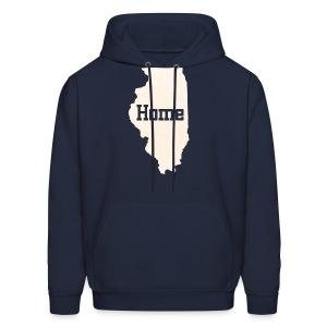 Illinois Home - Men's Hoodie