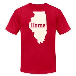 Illinois Home - Men's Fine Jersey T-Shirt