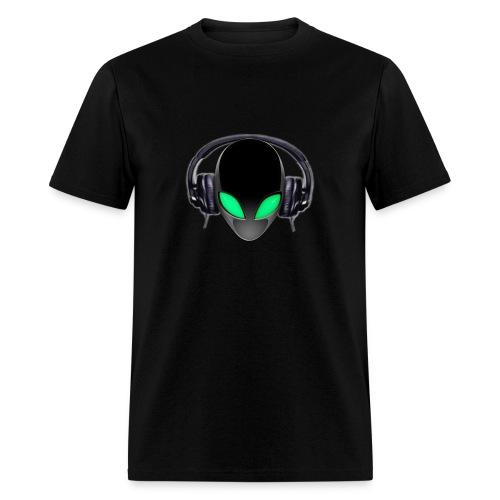 Alien Music Lover DJ - Men's T-Shirt