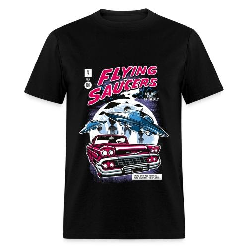 Flying Saucers - Men's T-Shirt