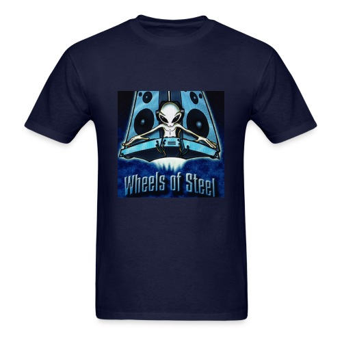 ALIEN DJ Weels of Street - Men's T-Shirt