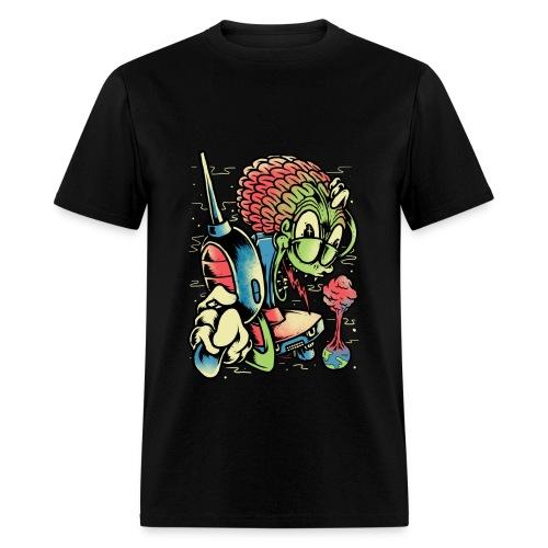 ALIEN Attack - Men's T-Shirt