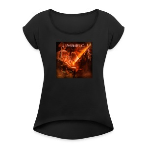 New! Women's the Sorrows Baby Doll T-Shirt - Women's Roll Cuff T-Shirt