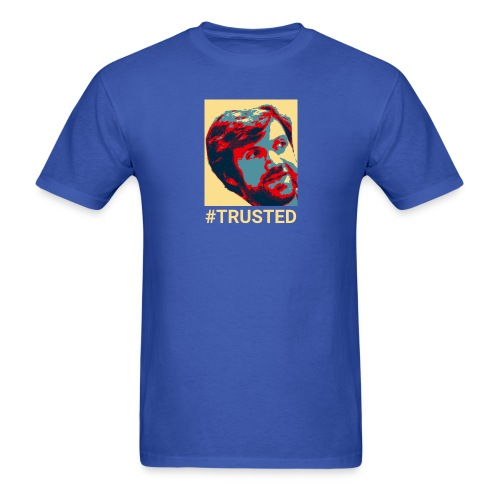 #TRUSTED (Men's) - Men's T-Shirt